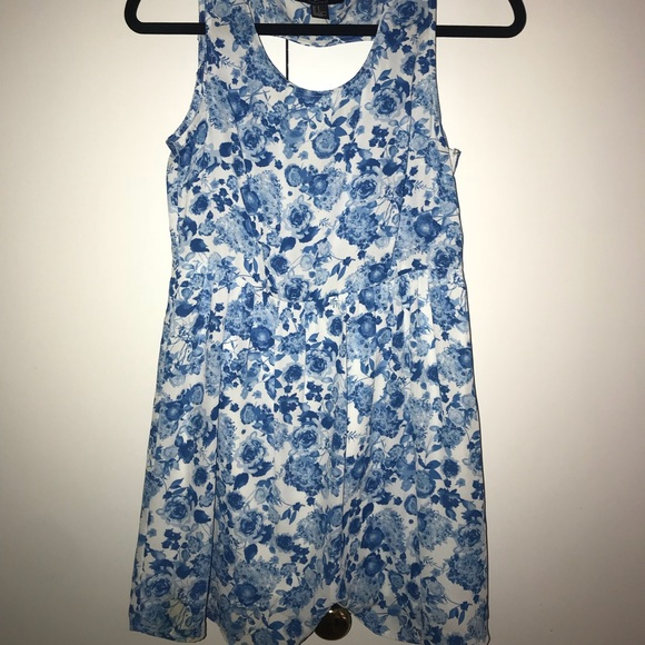ee56c91eb400 Forever 21 Dresses | Blue Floral Dress | Poshmark